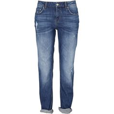 Lykke boyfriend-jeans (995 RUB) ❤ liked on Polyvore featuring jeans, pants, mens jeans, boyfriend jeans, blue jeans and boyfriend fit jeans