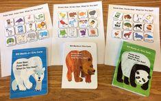 Classic Preschool Books with Free Book Visuals - The Autism Helper Autism Preschool, Preschool Special Education, Preschool Literacy, Autism Classroom, Preschool Books, Literacy Activities, Classroom Setup, Kindergarten, Preschool Schedule