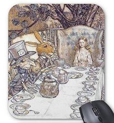 不思議の国のアリス 『 狂ったお茶会 』のマウスパッド 2:フォトパッド(アリスシリーズ)