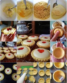 Resepkuekomplit.com merupakan situs kumpulan aneka resep kue yang disajikan secara lengkap, dilengkapi dengan panduan cara membuatnya step by step. Tart Recipes, Snack Recipes, Dessert Recipes, Asian Desserts, Just Desserts, Japanese Cheese Tart, Japanese Bakery, Dessert Packaging, Arabic Dessert