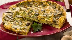 Spinach and Mushroom Frittata. http://www.healthline.com/health-recipes/spinach-and-mushroom-frittata