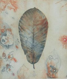 Work In Australia, Collagraph, Indian Summer, Botanical Art, Impressionism, Printmaking, Autumn, Fall, Drawings