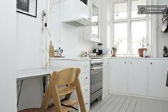 Bright, practical kitchen. kopenhagen