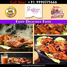 Online Food Delivery Services in Delhi www.gulnarbarbeque.com Call us:- +91 9990775666