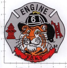 Engine 6 Fire Patch v12 Gray