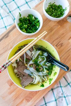 Pho noodle soup, Vietnamese pho and Pho on Pinterest
