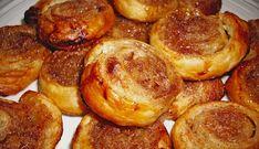 Heerlijke ronde kaneel snacks van bladerdeeg
