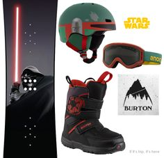 Burton's New 2014 Star Wars Snowboard Collection For The Young Shredder - if it's hip, it's here