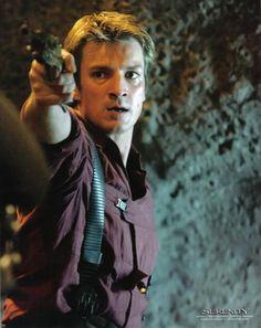 Nathan Fillion as Captain Malcom Reynolds
