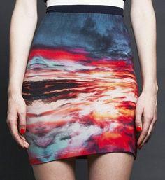 Romance in the Air Skirt ♥ Gorjuss Love ...love this skirt