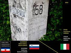 Confini amministrativi - Riigipiirid - Political borders - 国境 - 边界: 2014 IT-SI Itaalia-Sloveenia Italia-Slovenia Slovenia, Nova, Politics, Italia