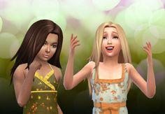 Harmony hair for girls by Kiara Zurk at My Stuff via Sims 4 Updates (Downloaded)
