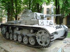 """Panzer III was the common name of a medium tank that was developed in the 1930s by Germany and was used extensively in World War II. The official German designation was Panzerkampfwagen III Sd Kfz. 141 (abbreviated PzKpfw III) translating as """"armoured fighting vehicle""""."""