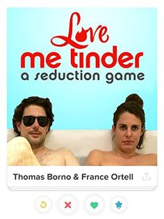 """""""Love Me Tinder"""" ~ The quest for a perfect partner gets a modern swipe. This documentary follows two young journalists, France and Thomas, during their pursuit of love using the famous mobile application, Tinder. Will they manage to find 'the one' using modern day cat and mobile mouse games or will this popular means of smartphone meet-ups get the better of them?"""