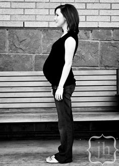 ME pregnant with Ryan by @Jen Herem I love this photo so much.