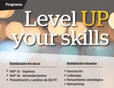 Programa Level Up your skills 2017
