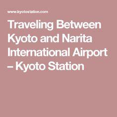 traveling between kyoto haneda international airport