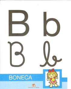 Alfabetos Lindos: Cartazes alfabeto 4 tipos de letras colorido