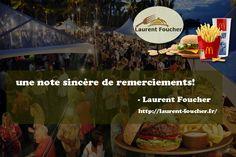 #Laurent_Foucher: une note sincère de remerciements!  Nous, les membres intégrés du restaurant Laurent Foucher, souhaitons profiter de ce moment pour exprimer votre gratitude et votre gratitude à tous ceux qui ont fait un grand succès pour «Laurent Foucher, festival alimentaire 2017». Nous sommes débordés du genre de réponse que nous avons reçue. Merci, surtout à tous les participants et participants. Et devine quoi? Nous prévoyons lancer un événement du même genre dans les deux mois. Restez…