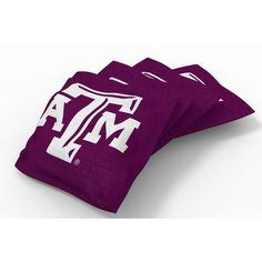 Wild Sports Texas A&M University Beanbag Set Maroon - Outdoor Games And Toys, Outdoor Games at Academy Sports