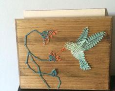 Arte de la cadena del elefante por JessicaLynnCo en Etsy
