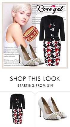 """""""Rosegal"""" by elinapit ❤ liked on Polyvore"""
