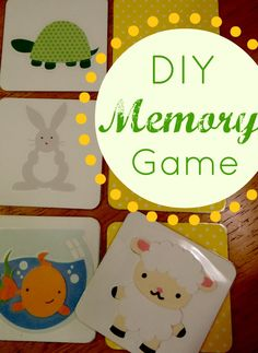 My Love for Words: DIY Memory Game