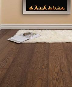 Atkinson & Kirby Concept Elite Engineered Nut Brown Oak Floor Double Brushed Hardwax Oiled