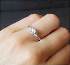 Minimalist Engagement Ring (12).. Aw looks like mine