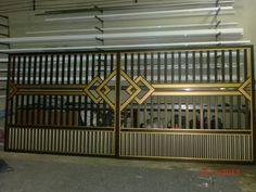 Gate Wall Design, House Main Gates Design, Steel Gate Design, Front Gate Design, Door Design, Classic House Design, Duplex House Design, Small Garden Design Ideas Low Maintenance, Modern Main Gate Designs