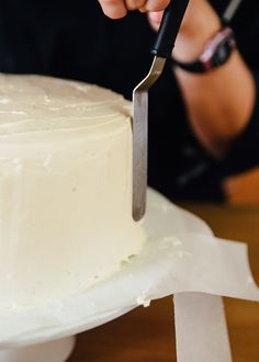 Creating the smooth, flawless buttercream finish you often find on professionally made cakes comes with practice