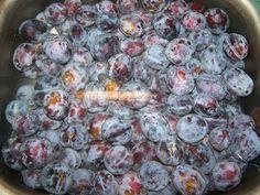 Falu végi kurta porta: Szilvalekvár sütőben sütve Cukor, Blueberry, Deserts, Sweets, Cookies, Baking, Fruit, Food, Crack Crackers