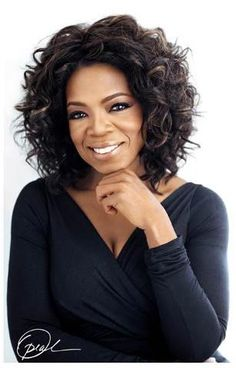 Oprah - this is one of my favorite pics of her