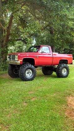 Lifted Chevy
