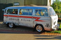 American Airlines Bus