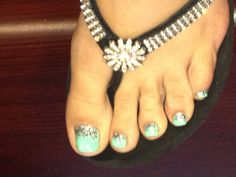 Ombre Toe Nail Design! Nails by Eric