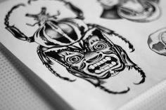 23Dogma tattoo flash detail.  #23dogma #dotwork #tattoo #tattooflash