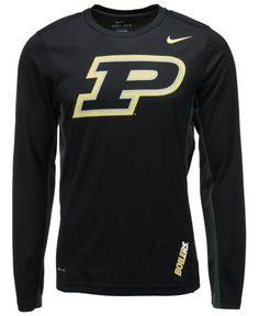 42fa40780 Nike Men s Long-Sleeve Purdue Boilermakers Vapor Performance T-Shirt Men -  Sports Fan Shop By Lids - Macy s