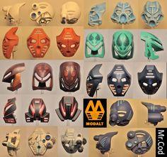 Bionicle Heroes, Lego Bionicle, Custom Paint Jobs, Custom Lego, Micro Lego, Bio Art, Lego Mechs, Hero Factory, Lego Worlds