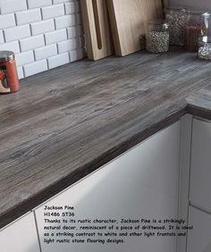 Jackson Pine Dark Wood Effectby EGGER Laminate Kitchen Worktop 4.1m 4100mm