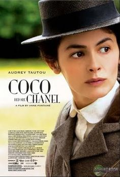 Coco Before Chanel A French film about the early life of famed French fashion designer Coco Chanel. French actor Audrey Tautou stars as Chanel. Coco avant Chanel was directed and co-written by actor turned director Anne Fontaine. Audrey Tautou, Coco Chanel, Chanel Bags, Chanel Handbags, Emmanuelle Devos, Chanel Poster, French Movies, English Movies, Kino Film