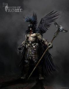Gods of Rome - game artworks at Riot Pixels