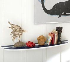 "$129.00 Surf Board Shelf 47 1/2""  #PotteryBarnKids"