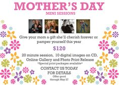 Mother's Day Mini Sessions 2017