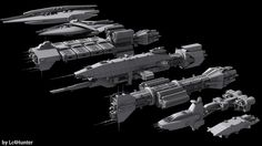 The Fleet by Lc4Hunter