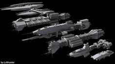The Fleet by Lc4Hunter
