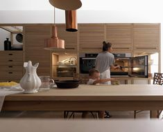 fitted kitchens | kitchen systems | sine tempore | valcucine, Kuchen