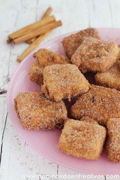 Cocinando entre Olivos: Leche frita (con Maizena). Receta paso a paso.