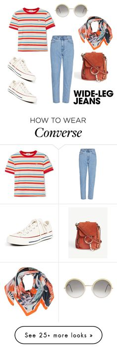 """Blast From The Past"" by kimberleyh20 on Polyvore featuring RE/DONE, Converse, Chloé and Cutler and Gross"