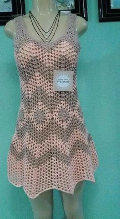 Seaside Dress pattern by Moon Eldridge Crochet Baby Jacket, Crochet Tunic, Diy Crochet, Crochet Clothes, Crochet Top, Clothing Patterns, Dress Patterns, Crochet Patterns, Crochet Girls